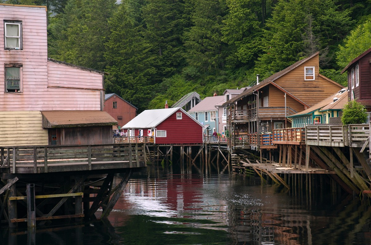 Creek street is one of the most iconic scenes of Ketchikan.