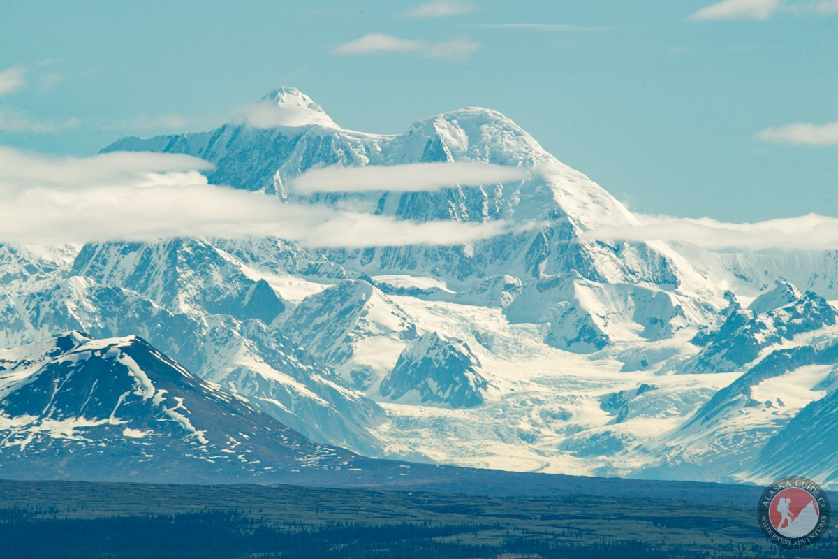 Looking out at Mount Hayes from the Denali Highway.