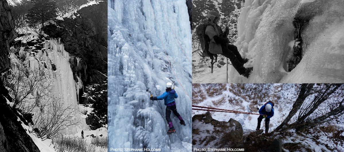 A collection of photos from our ice climbing POS in Keystone Canyon.