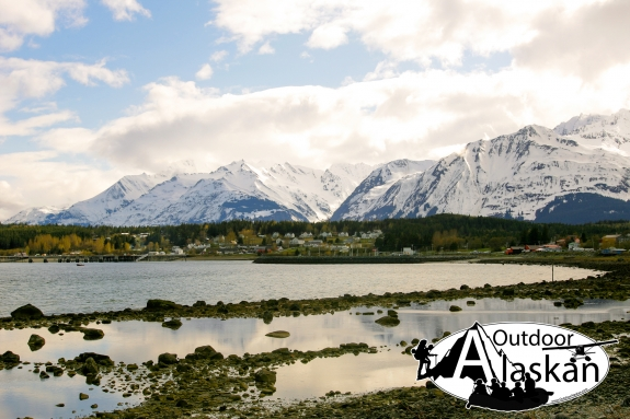 Looking at Fort Seward in Haines and the Chilkat Range in the background. Apologies for poor photo quality. Taken May 13, 2008.