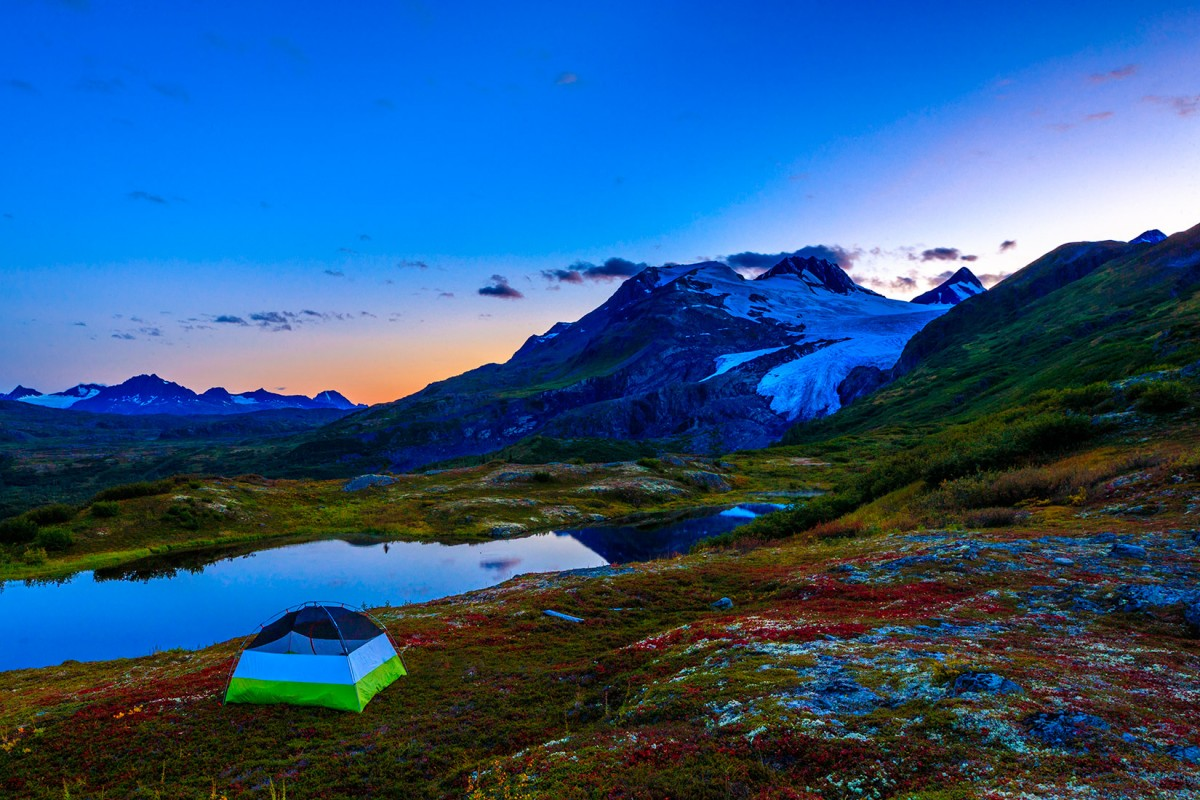 Camping around Valdez offers some of the most pristine views for a real Alaskan experience.