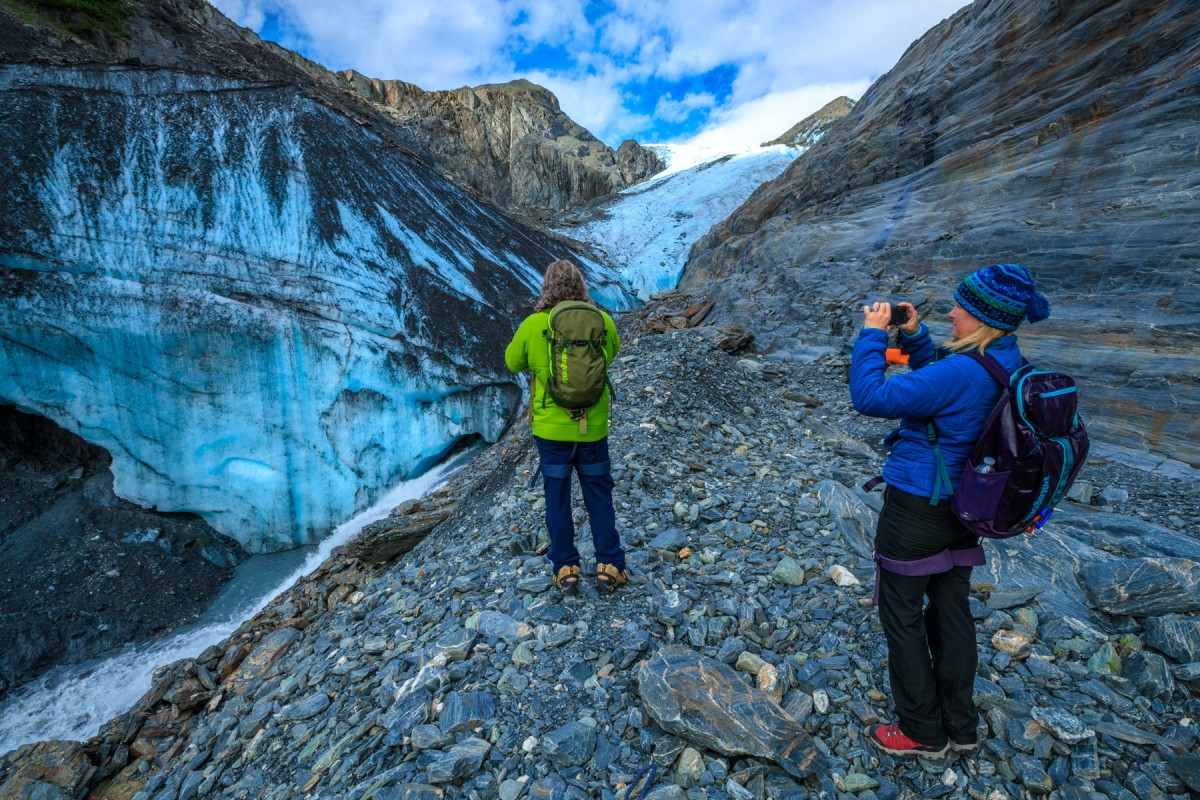 The Worthington Trek tour gets you up to Worthington Glacier and away from crowds.