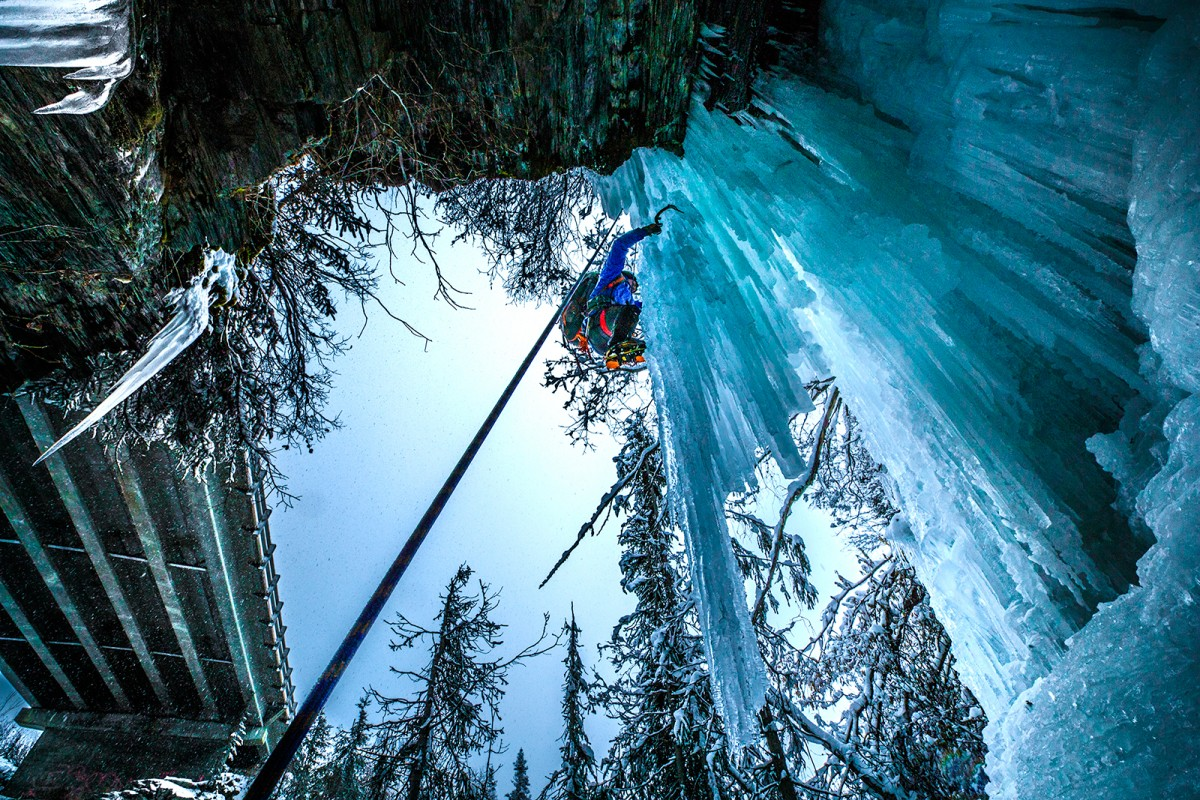 Valdez Winter Ice Climbing